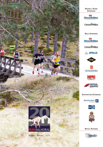 RunBalmoral Annual Report 2018