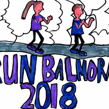Fantastic opportunity for pupils to design RunBalmoral 2019 race t-shirt logos – and to win £250 for your school