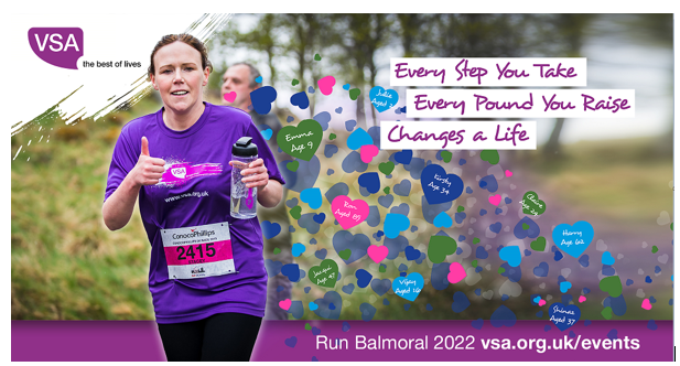 VSA - Every Step you take every pound you raise changes a life
